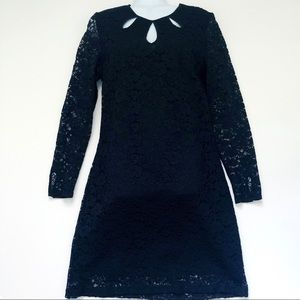 Juicy Couture Black Lace Dress Cocktail Formal 8
